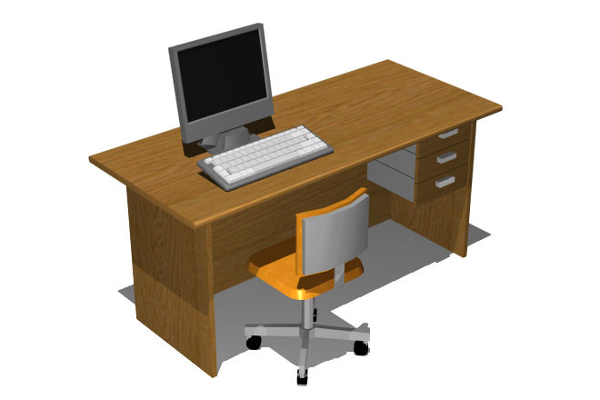 mueble muebles de oficina cad 2d decoraci n de