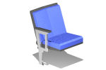with backrest & armrests