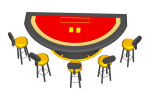 and stools
