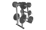 with weights