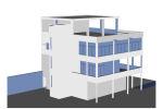 - 3 plantas y azotea - Escalera 3D
