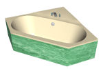 - Bathtub