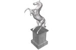 of rampant horse